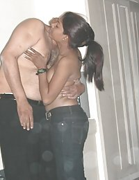 newly married indian girl with her man naked