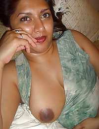 busty indian babe laying naked in bed for her boyfriend