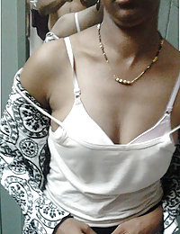 sweet young indian ganga wife getting naked for her hubby